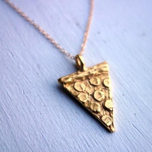 Pizza Slice Necklace