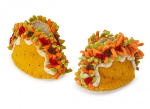 Baby Shower Gift Ideas - Taco Booties