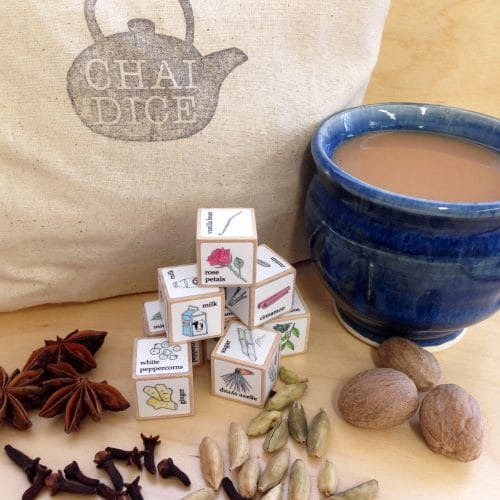 chai dice and spices