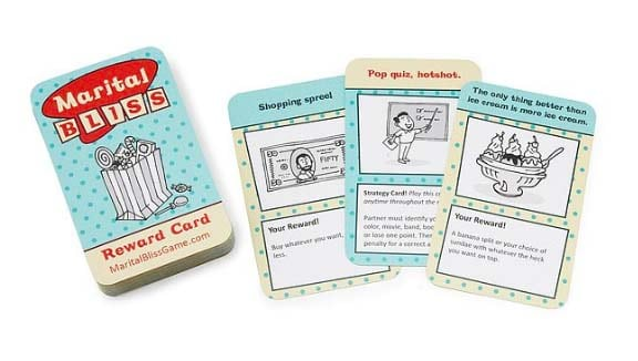 fun bridal shower gifts marital bliss card game