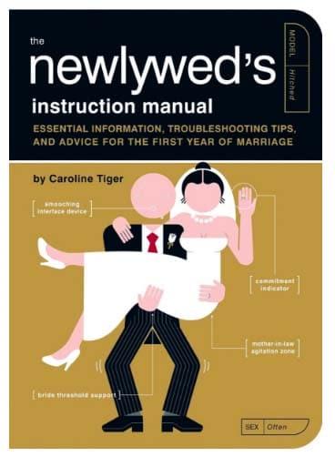 fun bridal shower gifts newlyweds instruction manual