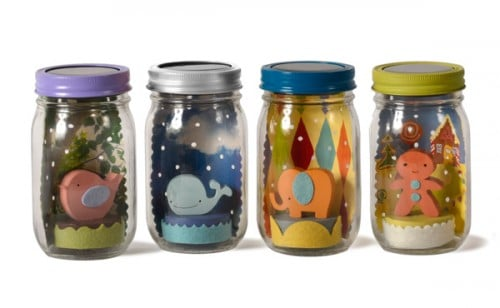 Baby Shower Gift Ideas   Mason Jar Lights