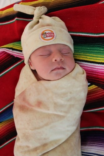 Baby Shower Gift Ideas - Tortilla Baby
