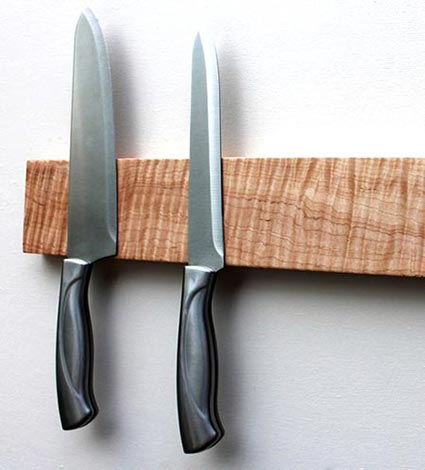 5 Year Anniversary Gifts - Wood Knife Rack
