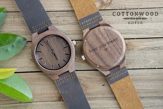 5 Year Anniversary Gift Wooden Watches