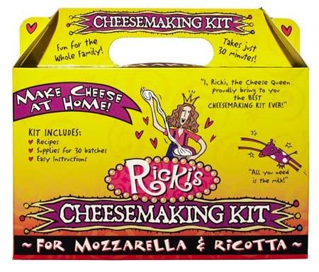 Cheese Making Kits - Ricki's Mozzarella