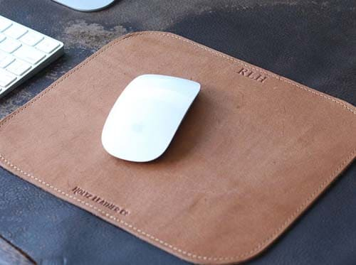 Gifts for Boss - Leather Mousepad