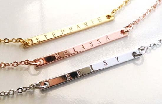 029e1d9f1 Name Necklace: Chic, Modern, & Stylish Custom Jewelry