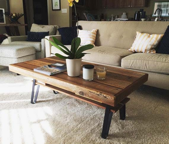 Reclaimed Wood Coffee Tables: 13 Top Picks For Rustic Style
