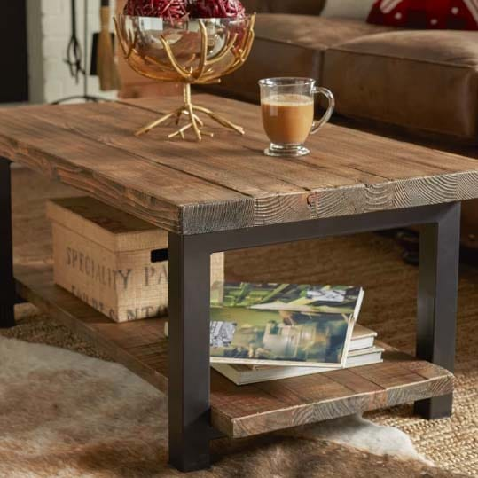 Reclaimed Wood Coffee Tables Loon Peak