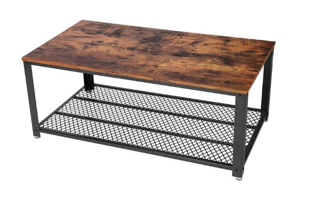 Reclaimed Wood Coffee Tables - Songmics