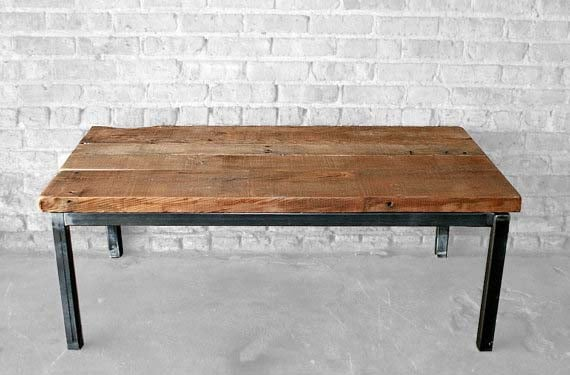 Reclaimed Wood Coffee Tables - Wage of Labor
