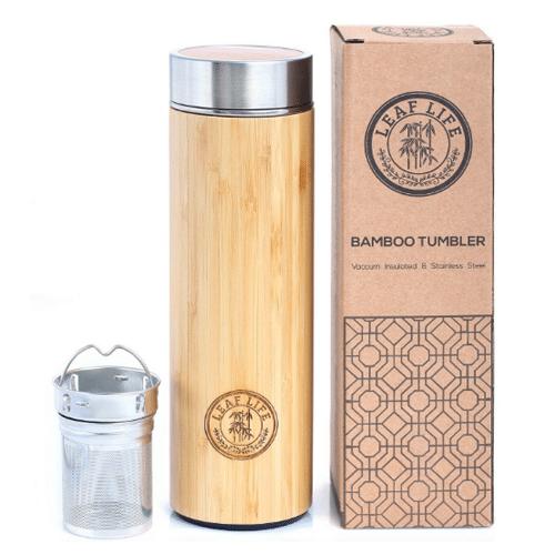 Bamboo Tea Tumbler