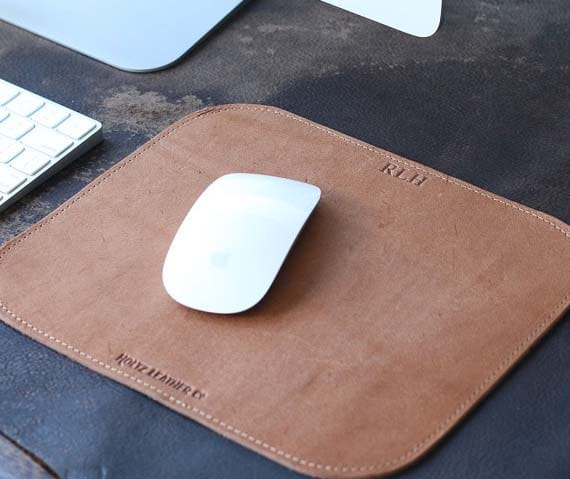 Creative Corporate Gifts - Leather Mousepad