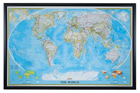 world travel map with pins national geographic
