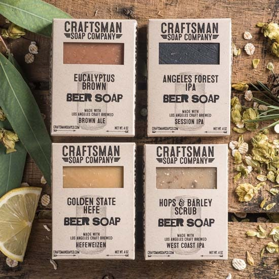 Beer Soap Gifts - Craftsman