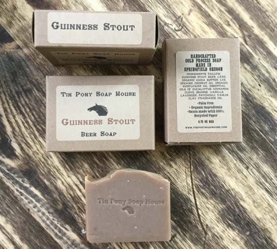 Beer Soap Gifts - Guinness Lye