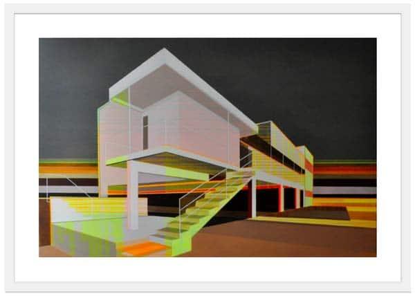 Contemporary Art Prints - Cap Moderne