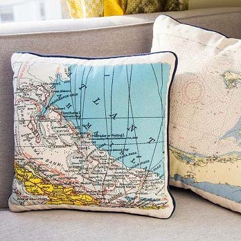 Custom Nautical Pillow