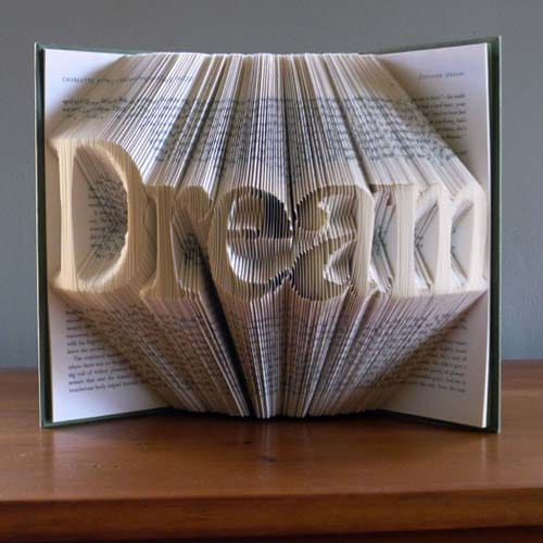 Gifts - Folded Book Art