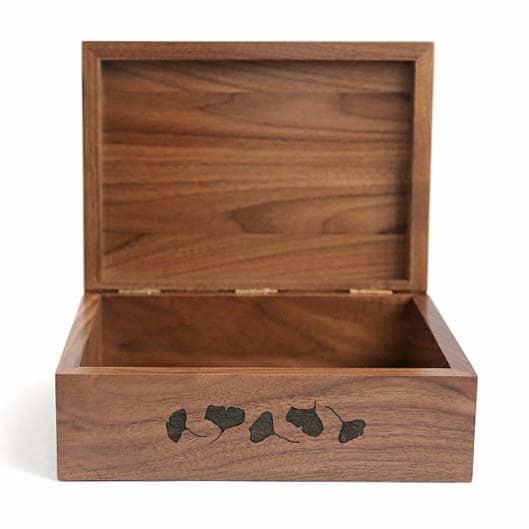 Ginkgo Keepsake Box