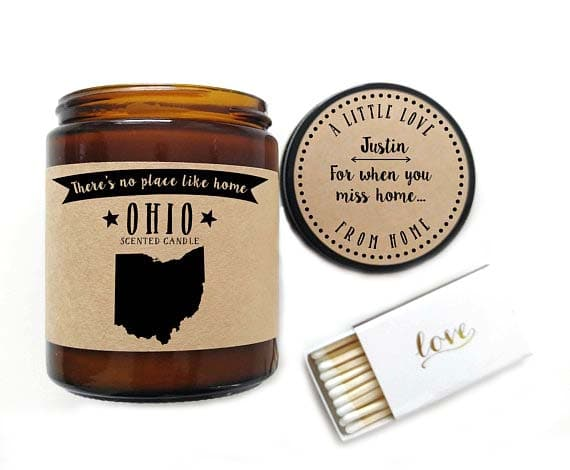 New Home Gifts - Home State Candle