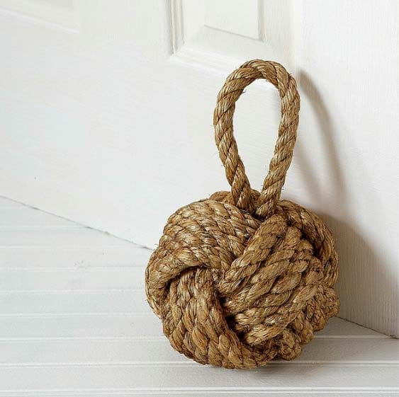 New Home Gifts - Knotty Doorstop