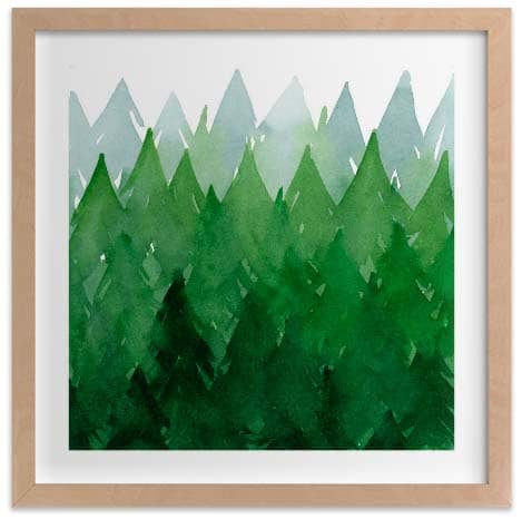 Kids Wall Art Prints - Forest