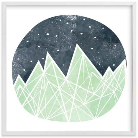 Kids Wall Art - Nighttime Sky