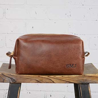 Gifts - Leather Dopp Kit