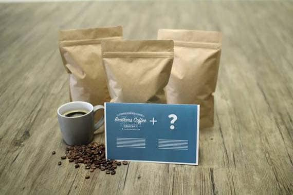 Long Distance Relationship Gifts - Brothers Coffee