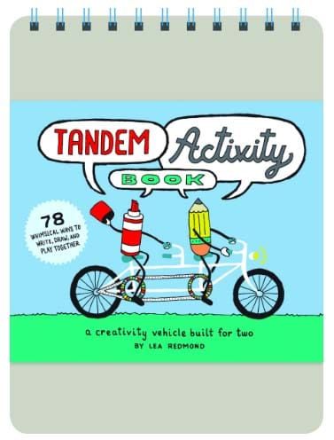 Long Distance Relationship Gifts - Tandem Activity Book