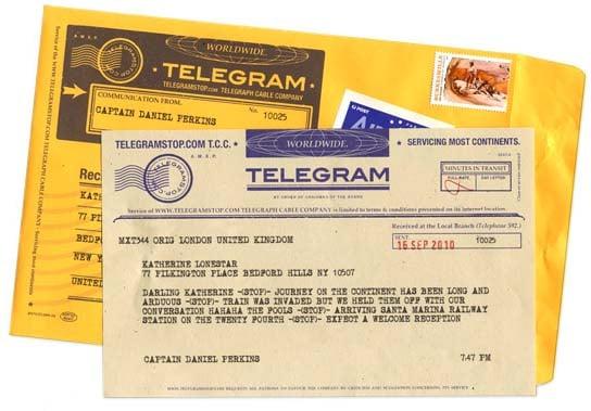 Long Distance Relationship Gifts - Send A Telegram