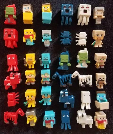 Minecraft Gifts - Cake Toppers