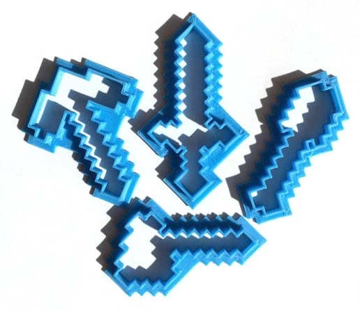 Minecraft Gifts - Cookie Cutters