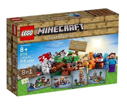 Minecraft Gifts - Lego Crafting Set