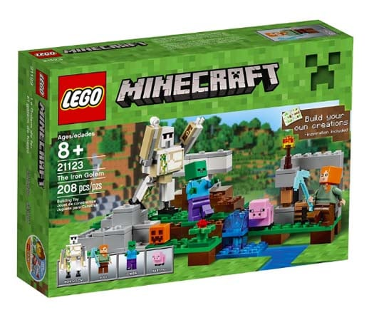 Minecraft Gifts - Legos The Iron Golem