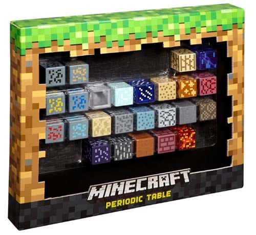 Minecraft Gifts - Periodic Table of Elements