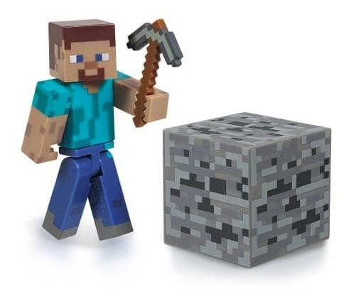Minecraft Gifts - Steve Action Figure