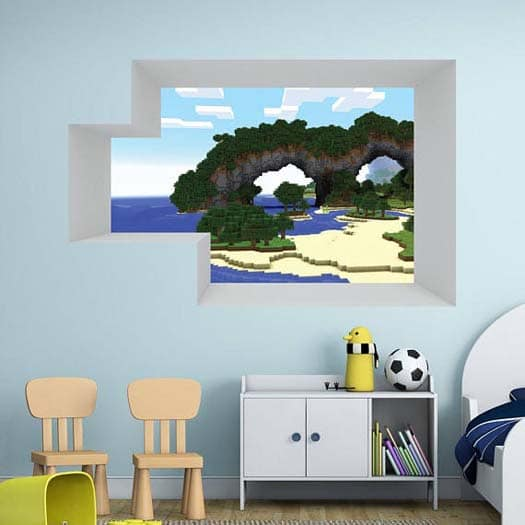 Minecraft Gifts - Vinyl Wall Decals