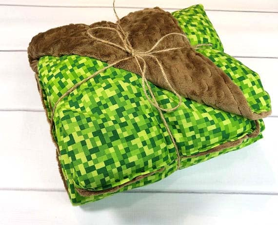 Minecraft Gifts - Weighted Blanket