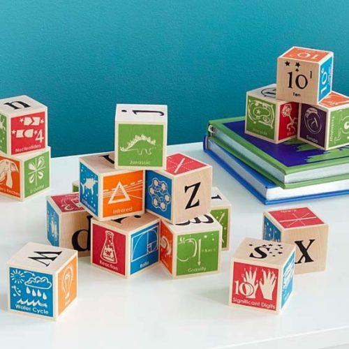 Gifts - Nerdy ABC Blocks