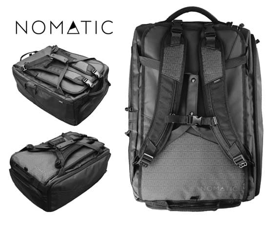 Gift Baskets are Overrated - Nomatic Travel Bag