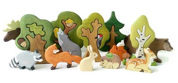 woodland-creatures-set