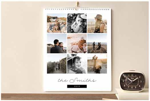 Long Distance Relationship Gifts - Photo Calendar