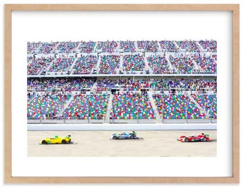 Nursery Wall Art Prints - Racecars
