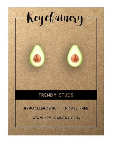 Gifts for Avocado Lovers - Stud Earrings