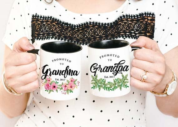 Gifts for Grandma - Promoted Mugs