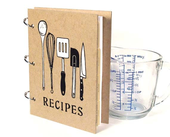 Gifts for Grandma - Blank Recipe Book