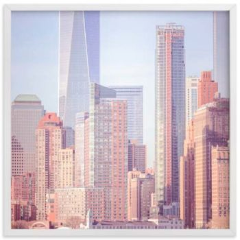NYC Wall Art Prints - A Distant Skyline